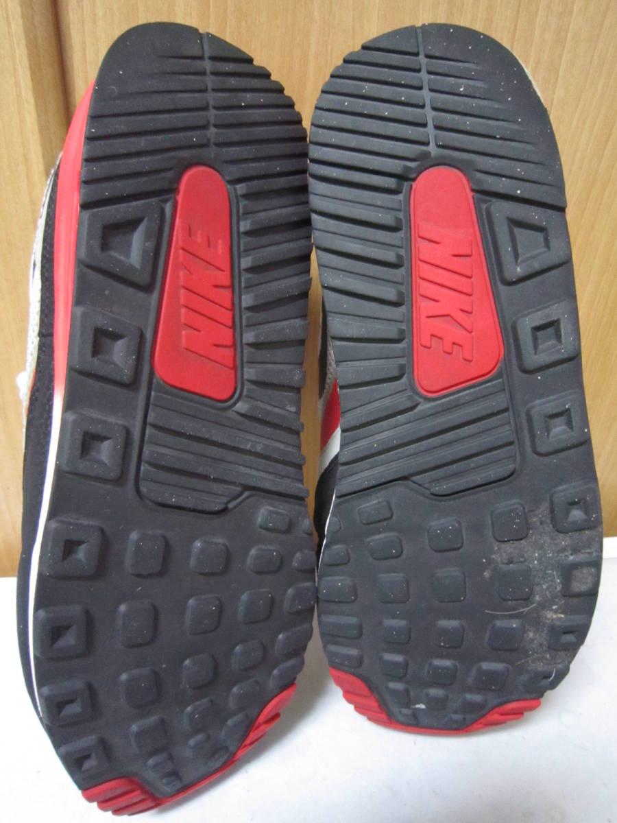 ナイキ エアマックス ライト C 1.0(631758-006)灰黒白赤 28cm US10    Nike Air Max Light C1.0  2013年製  ai1903d_画像4