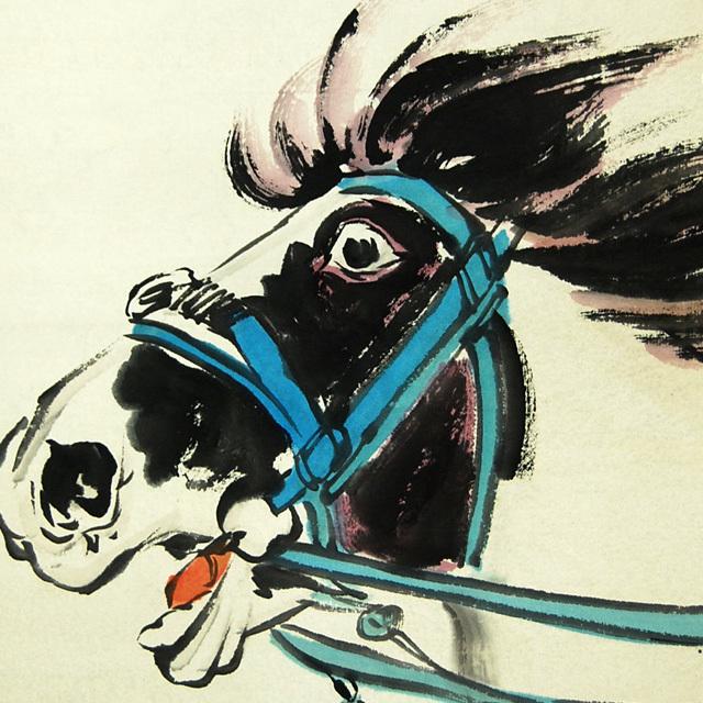 L21810 中国 落款あり 継貞「女性図」美人画 人物画 掛軸 紙本 水彩画 真筆 女性画 中国美術_画像6