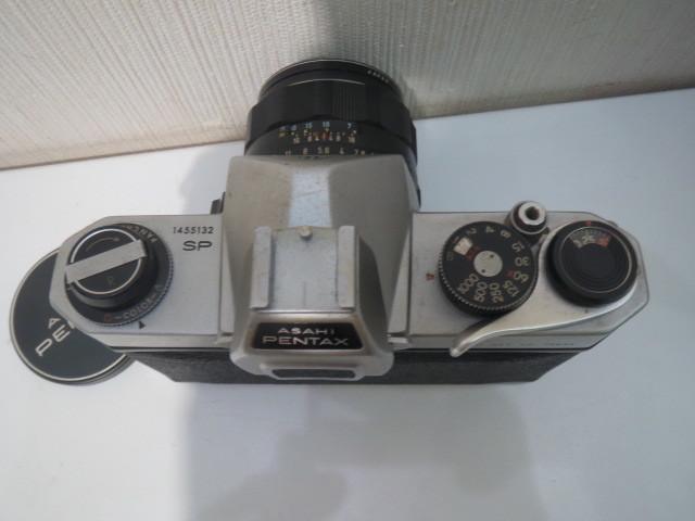 15705【ジャンク】カメラ ペンタックス アサヒ SP スポーツマチック レンズ 1:1.8/55_画像4