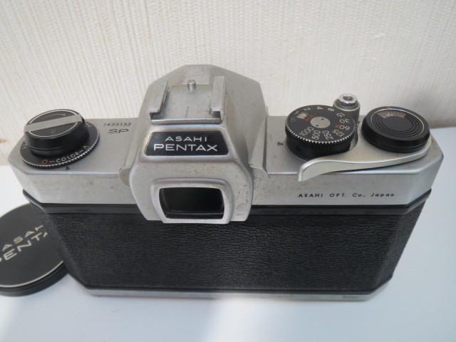 15705【ジャンク】カメラ ペンタックス アサヒ SP スポーツマチック レンズ 1:1.8/55_画像3