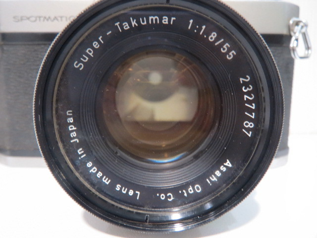 15705【ジャンク】カメラ ペンタックス アサヒ SP スポーツマチック レンズ 1:1.8/55_画像5