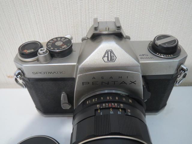 15705【ジャンク】カメラ ペンタックス アサヒ SP スポーツマチック レンズ 1:1.8/55_画像2