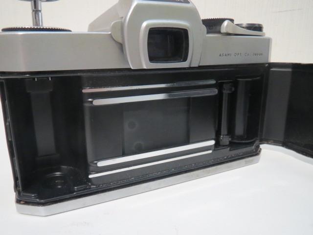 15705【ジャンク】カメラ ペンタックス アサヒ SP スポーツマチック レンズ 1:1.8/55_画像8