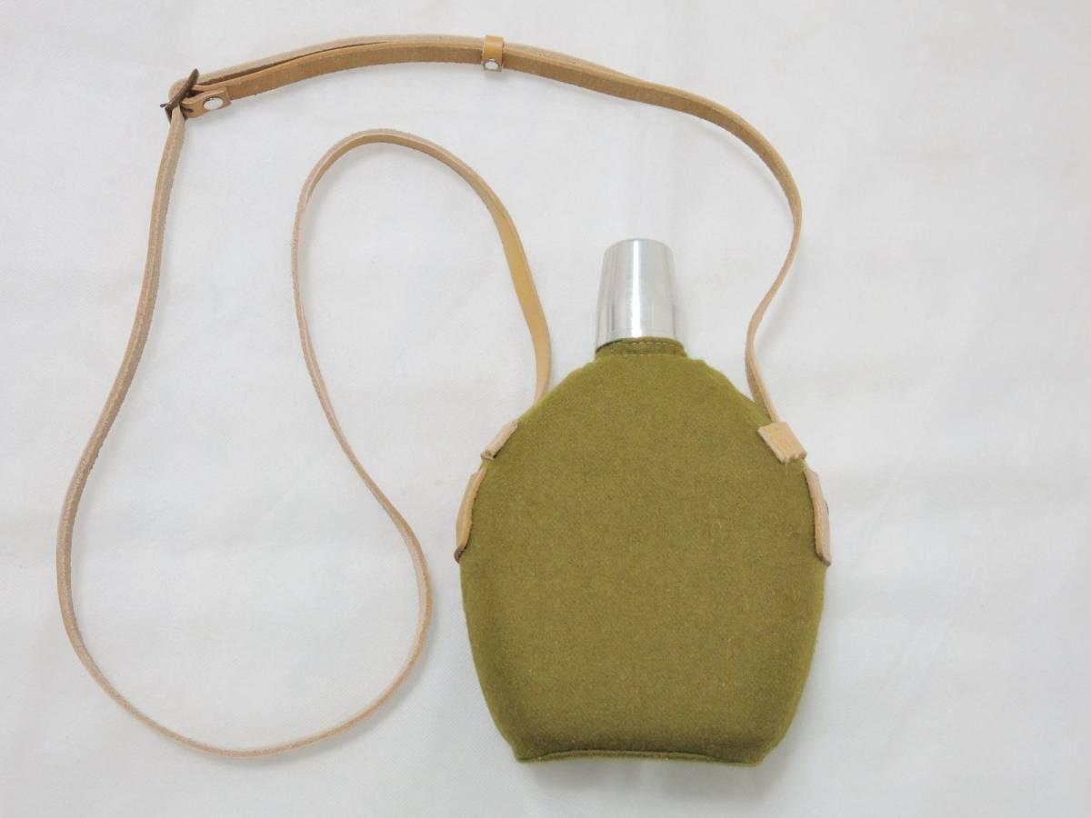 日本陸軍将校用水筒(複製品) 日本軍士官帝国陸軍_画像2