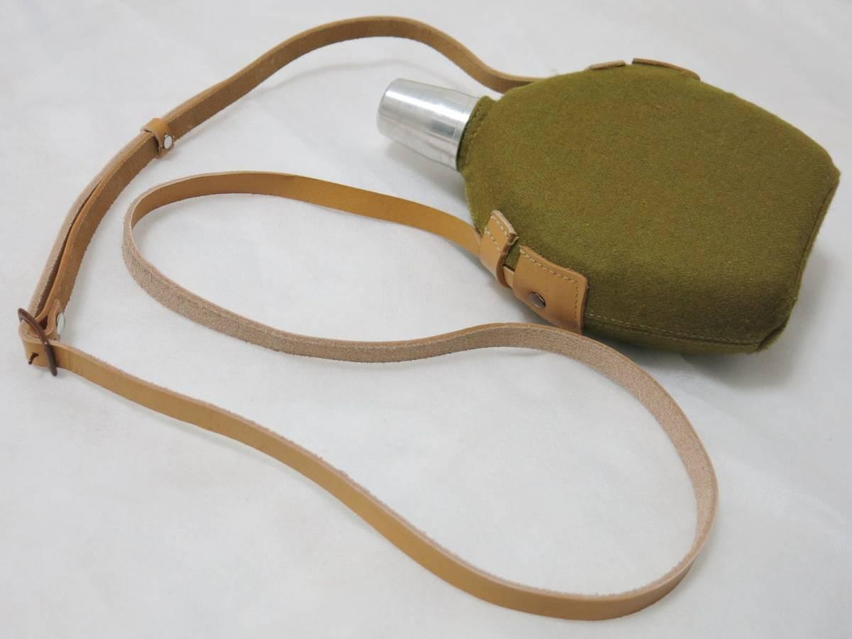 日本陸軍将校用水筒(複製品) 日本軍士官帝国陸軍_画像4