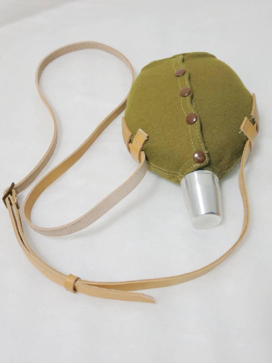 日本陸軍将校用水筒(複製品) 日本軍士官帝国陸軍_画像7