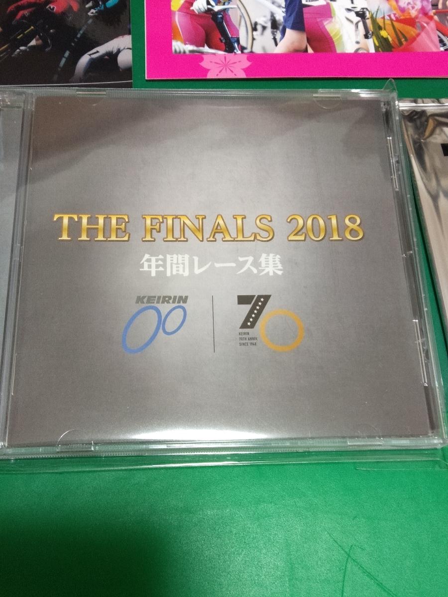 ケイリン 競輪 KEIRIN 非売品2018年間レース集DVD、ポストカード集、ステッカー、70周年競輪選手カード、クリアファイル_画像2