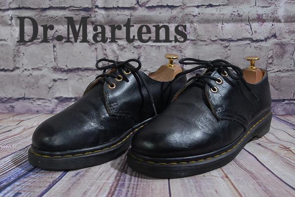 5980円スタート DS3112 Dr.Martens ドクターマーチン3ホール メンズ レザーシューズ サイズUK7 アウトソール28cm 安値出品 お買い得_画像1
