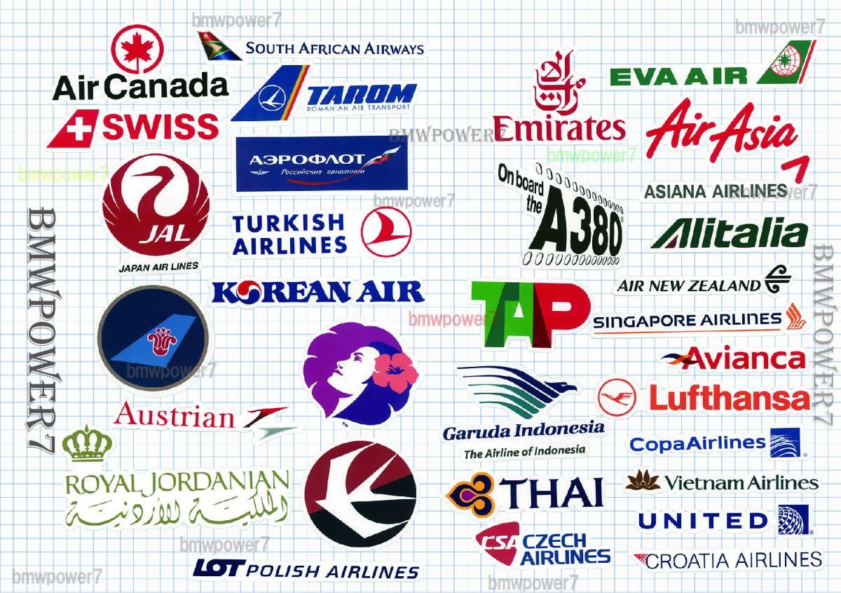 RIMOWA ステッカー 50枚 世界のエアライン リモワ シール 50枚セット 航空会社 ANA JAL シンガポール航空・・・送料無料☆追跡番号有 _画像2
