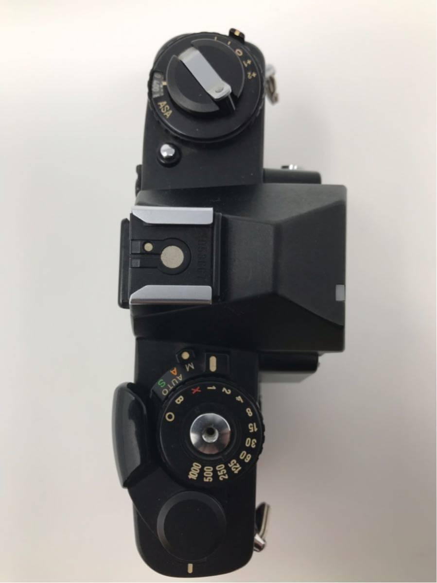 希少! MINOLTA XD ミノルタXD フィルム カメラ 1:1.7f=55mm 2367947 トカゲ革_画像7