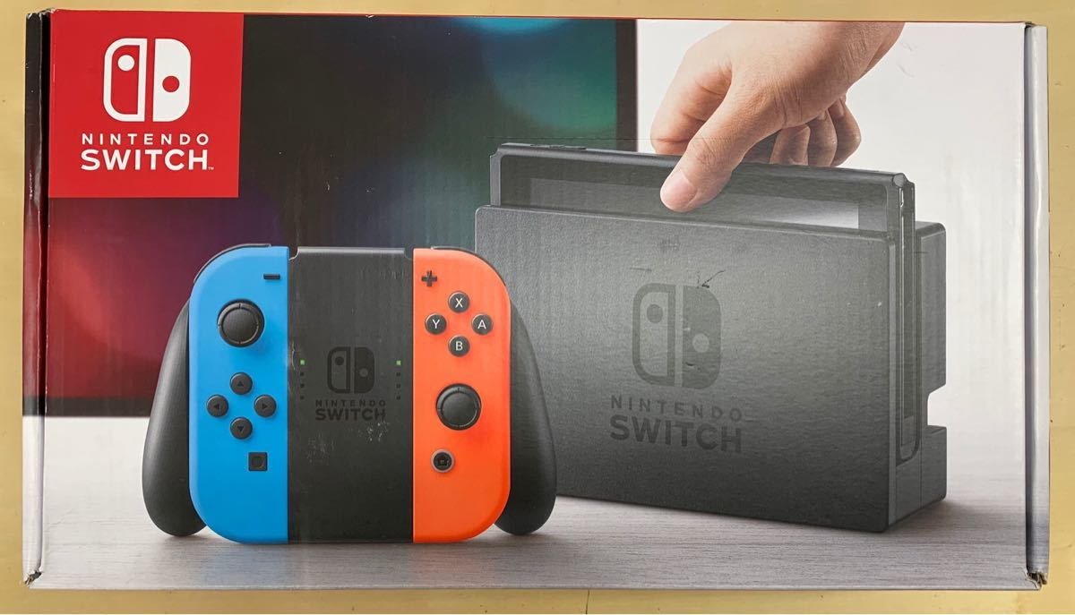Nintendo Switch 本体 (ニンテンドースイッチ) 【Joy-Con (L) ネオンブルー/ (R) ネオンレッド】_画像8