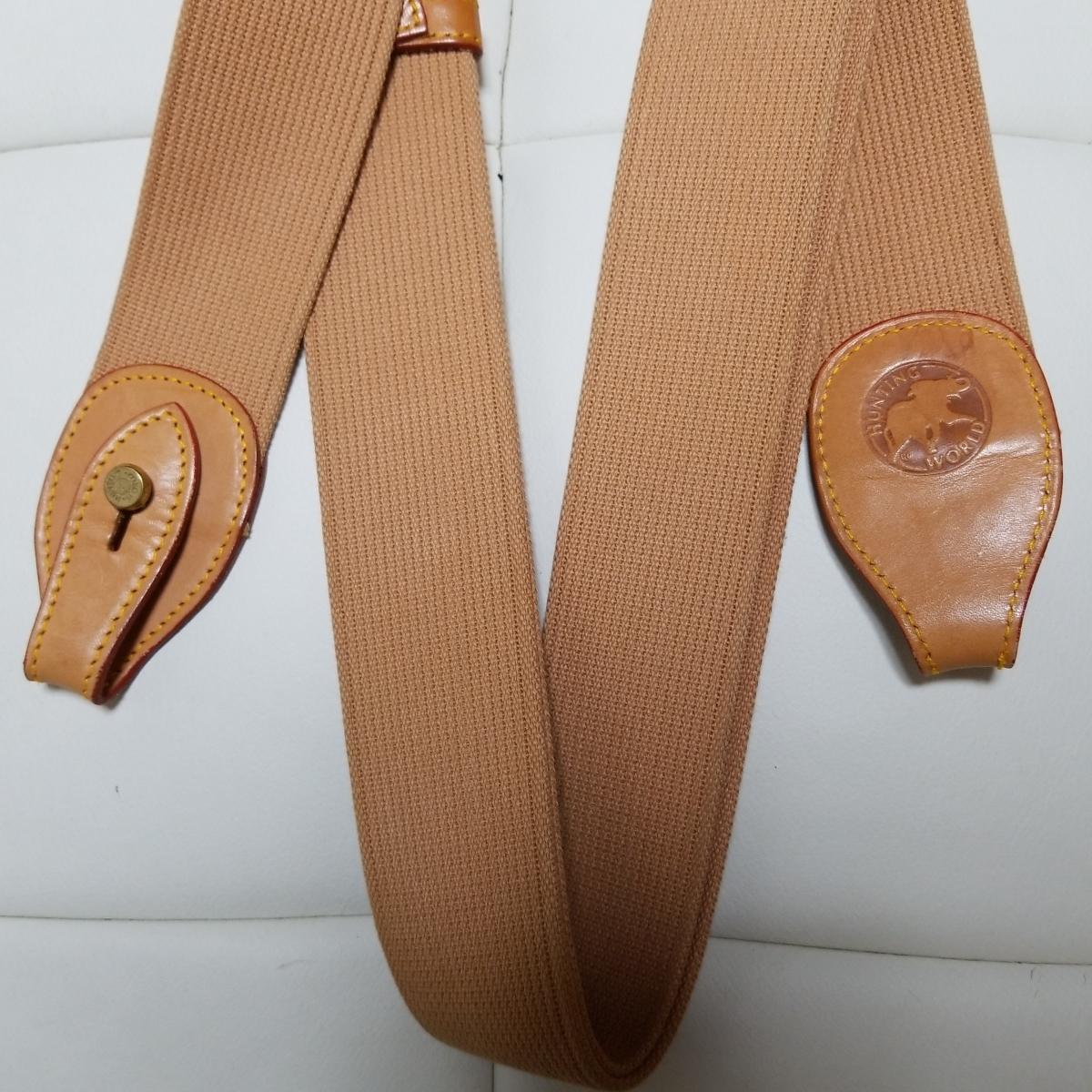 ◆未使用◆ハンティングワールド/ショルダーストラップ/ボストン/その他のバッグ利用可能