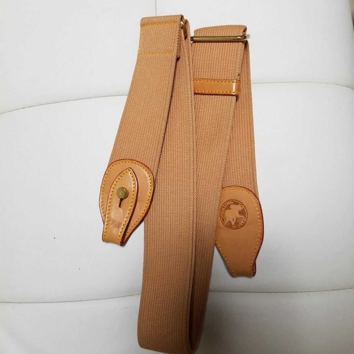 ◆未使用◆ハンティングワールド/ショルダーストラップ/ボストン/その他のバッグ利用可能_画像6