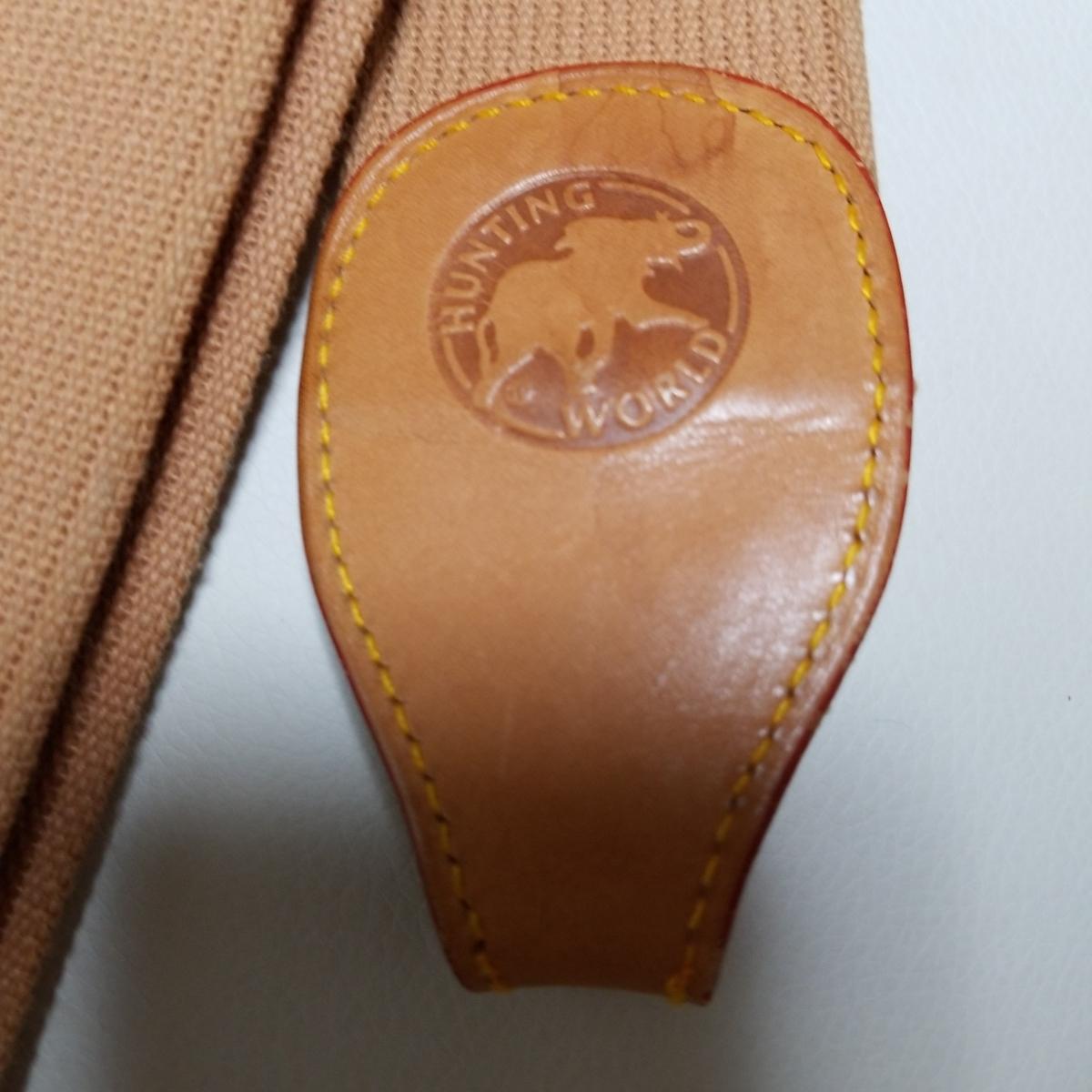 ◆未使用◆ハンティングワールド/ショルダーストラップ/ボストン/その他のバッグ利用可能_画像4