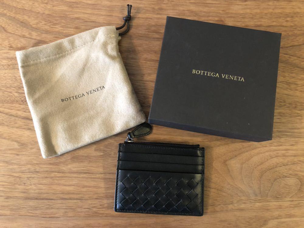 【新品・未使用】BOTTEGA VENETA(ボッテガヴェネタ) イントレチャート カードケース コインケース_画像1