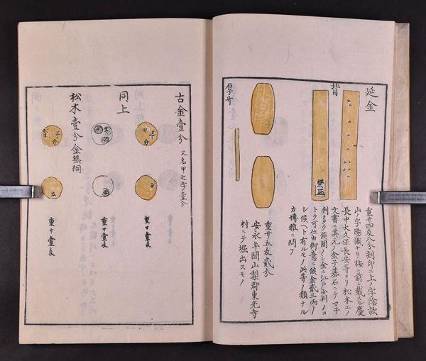 金銀図録 全7冊 木版 貨幣 金貨 大判 小判 和本 古文書_画像5
