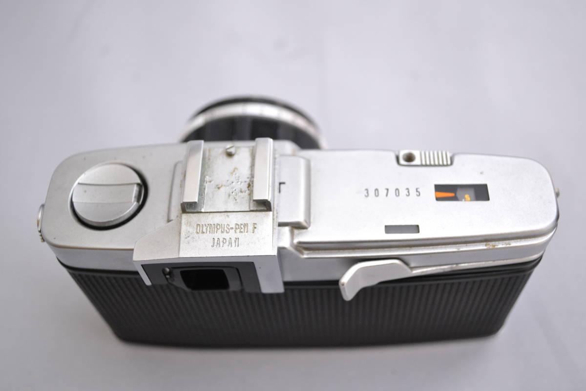 ★超希少 良品★OLYMPUS オリンパス ペン PEN FT + F.Zuiko ズイコー Auto-S 38mm F1.8 ボディ レンスセッド 専用ケース 付属品付き★_画像4