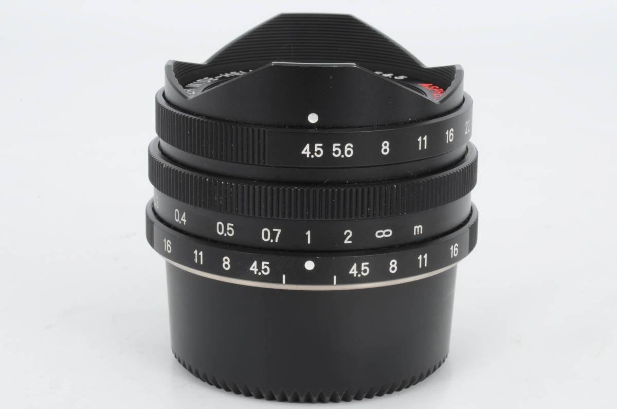 極上 フォクトレンダー Voigtlander SUPER WIDE-HELIAR 15mm F4.5 Aspherical + 25mmビューファインダー Leica L マウント (YO-L06)_画像2
