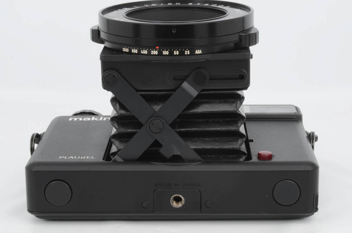 ◆美品 PLAUBEL プラウベル Makina 67 マキナ 中判カメラ フード フィルター付き (333-R64)_画像4