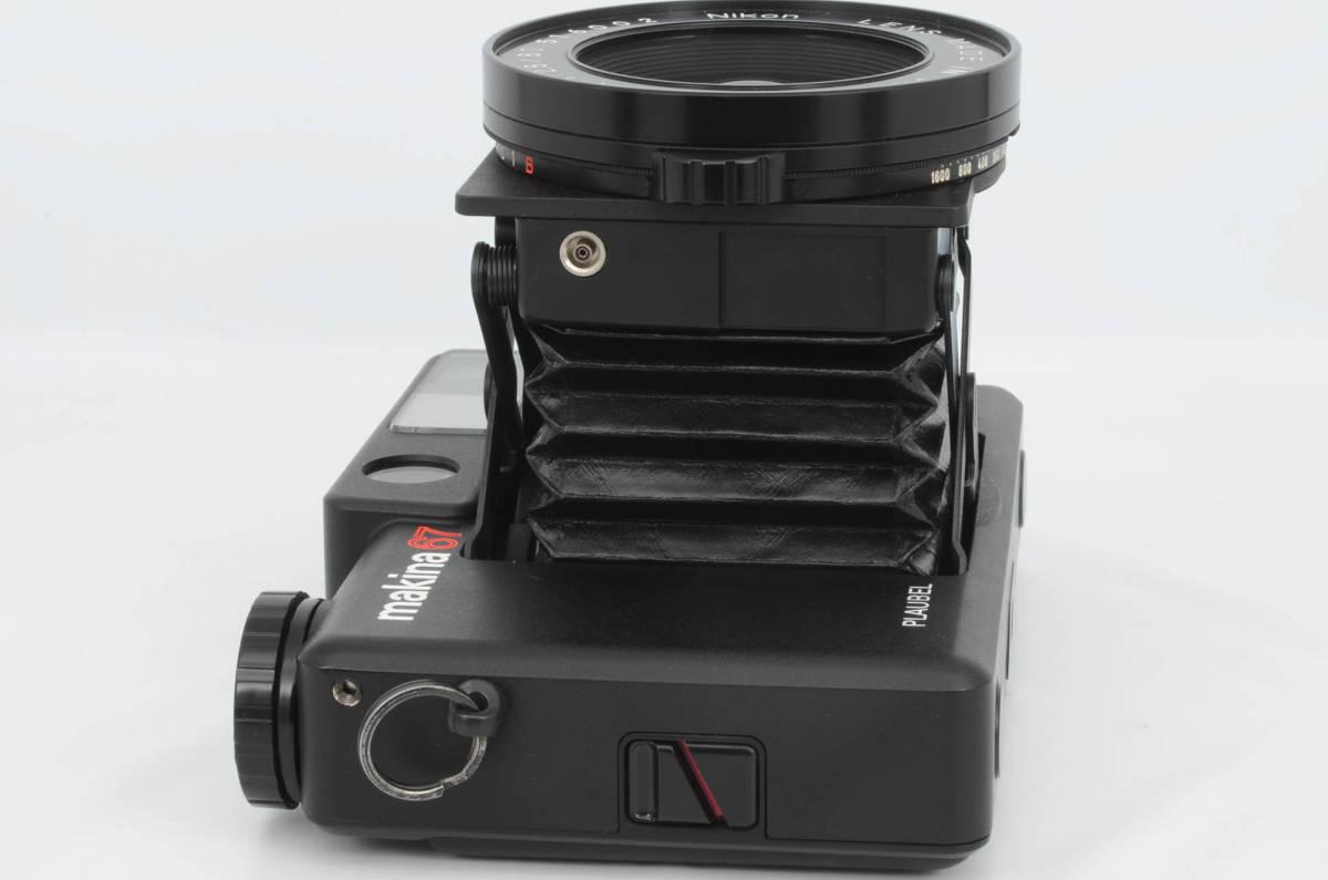 ◆美品 PLAUBEL プラウベル Makina 67 マキナ 中判カメラ フード フィルター付き (333-R64)_画像6