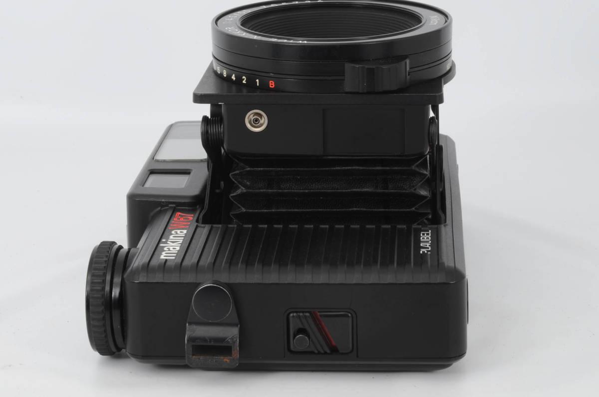 ◆美品 PLAUBEL Makina プラウベル マキナ W67 中判カメラ ケース付き (333-R65)_画像6