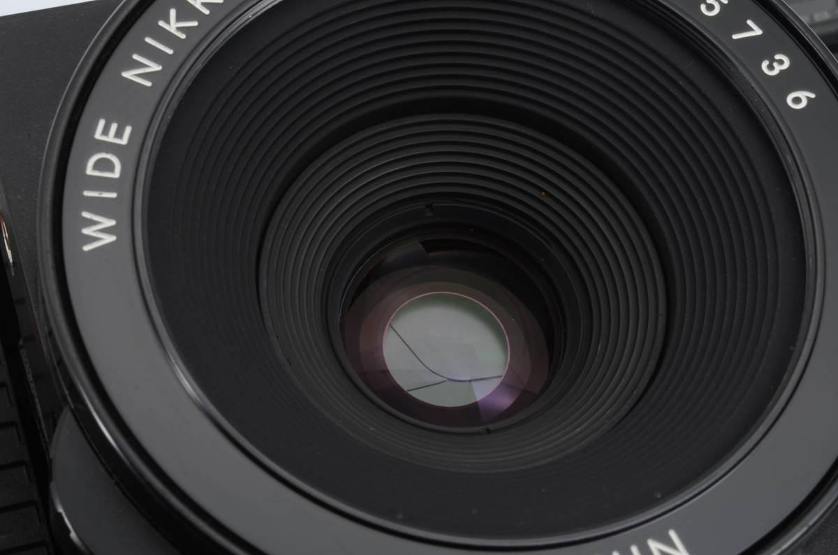 ◆美品 PLAUBEL Makina プラウベル マキナ W67 中判カメラ ケース付き (333-R65)_画像8