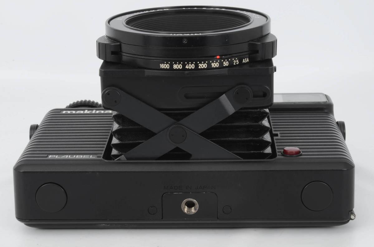 ◆美品 PLAUBEL Makina プラウベル マキナ W67 中判カメラ ケース付き (333-R65)_画像4