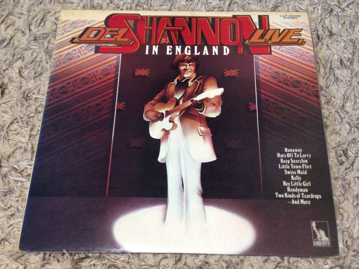 Del Shannon Live In England (日本盤)_画像1