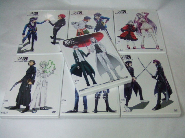 DVD K RETURN OF KINGS 全7巻 レンタル品_画像2