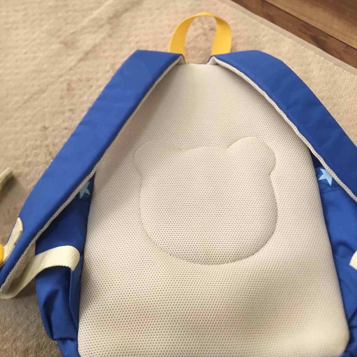 ミキハウス リュックサック 男の子 B級品 ホット ビスケッツ クマ 子供用 鞄 リュック_画像6