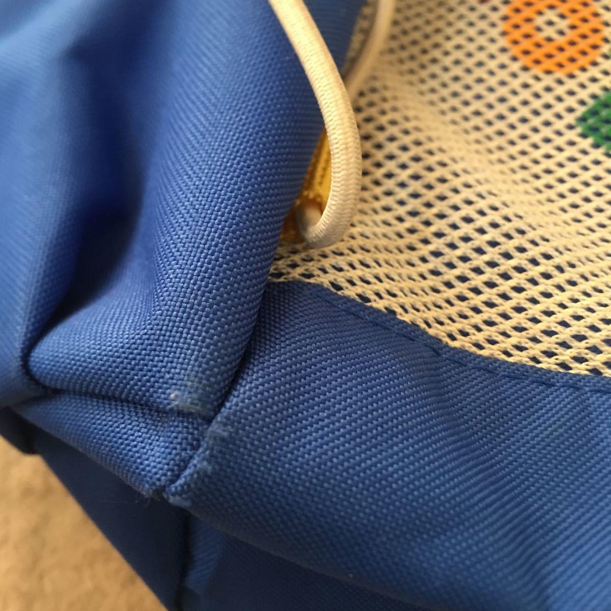 ミキハウス リュックサック 男の子 B級品 ホット ビスケッツ クマ 子供用 鞄 リュック_画像9