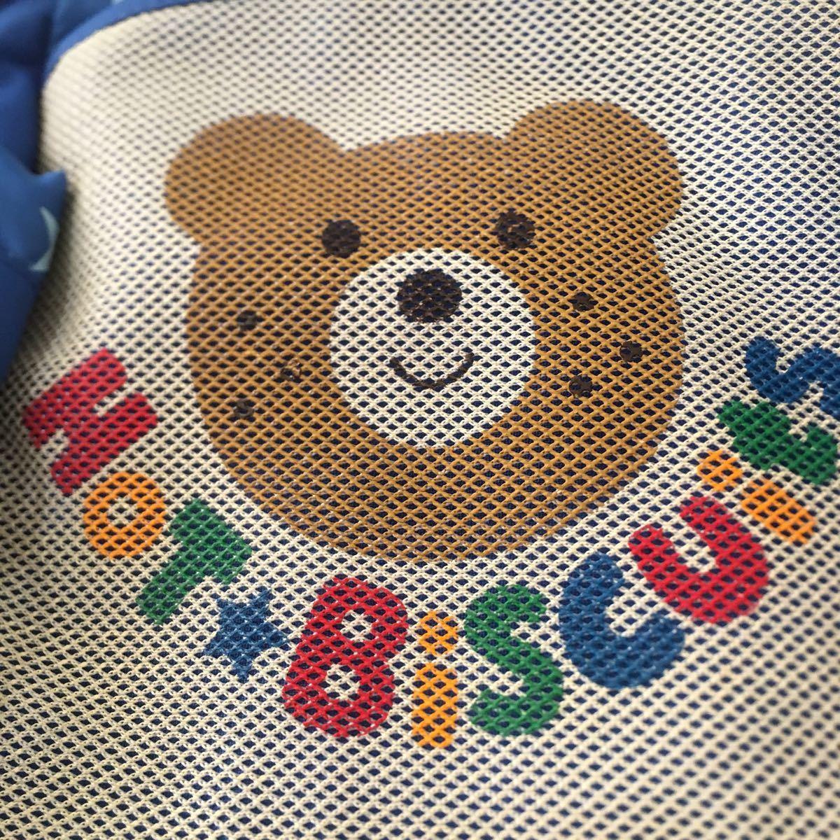 ミキハウス リュックサック 男の子 B級品 ホット ビスケッツ クマ 子供用 鞄 リュック_画像2
