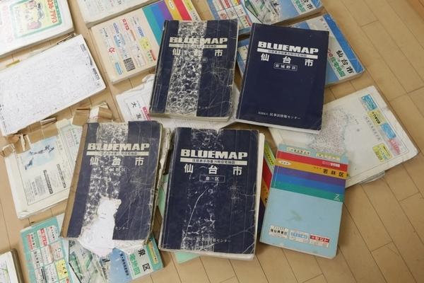 現状!! ゼンリン等 宮城県仙台市住宅地図20点以上セット 88年~98年_画像2