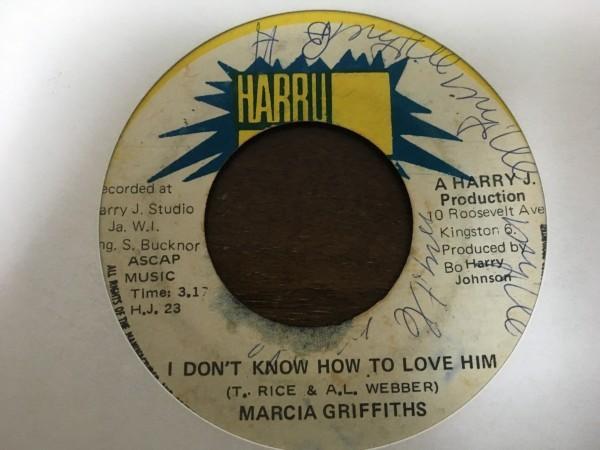 【レア盤】Marcia Griffiths Baby If You Don't Love Me / I Don't Know How To Love Him Rocksteady Reggae roots soul funk_画像2