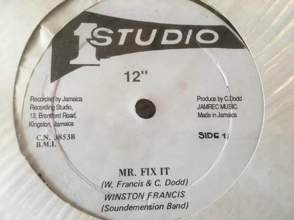 【レア盤】The Heptones, Winston Francis Sweet Talking / Mr. Fix It Rocksteady Reggae roots soul funk Studio One 1_画像1