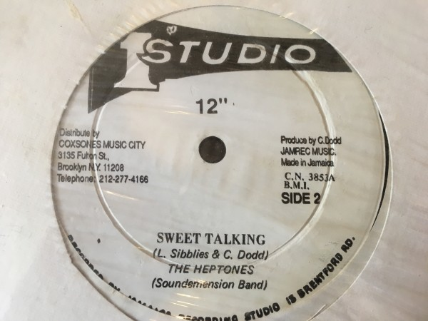 【レア盤】The Heptones, Winston Francis Sweet Talking / Mr. Fix It Rocksteady Reggae roots soul funk Studio One 1_画像2
