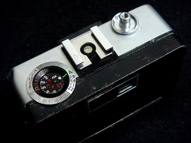232 試写済 リコー オートハーフ E2 ラインブルー ricoh autohalf e2 昭和レトロ auto half vintage half frame camera_画像4