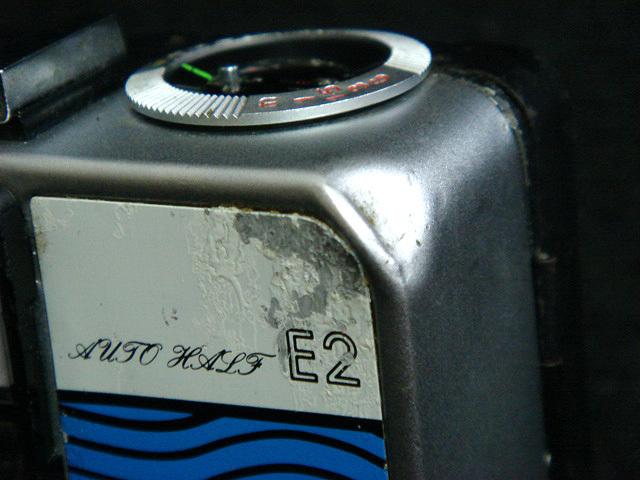 232 試写済 リコー オートハーフ E2 ラインブルー ricoh autohalf e2 昭和レトロ auto half vintage half frame camera_画像8