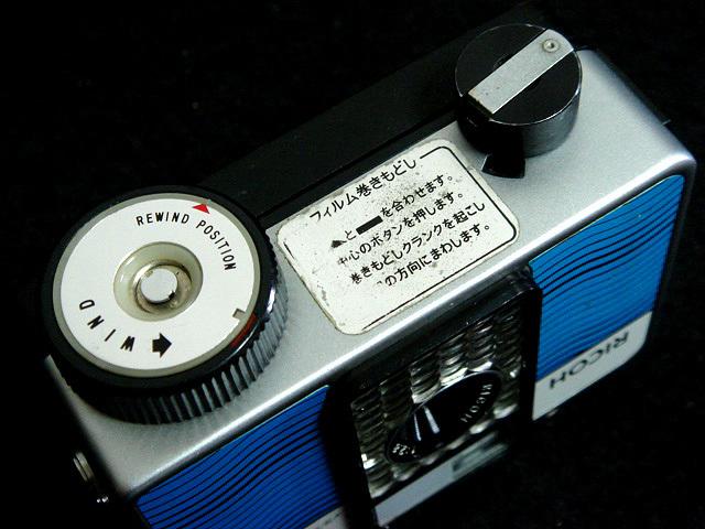 232 試写済 リコー オートハーフ E2 ラインブルー ricoh autohalf e2 昭和レトロ auto half vintage half frame camera_画像5