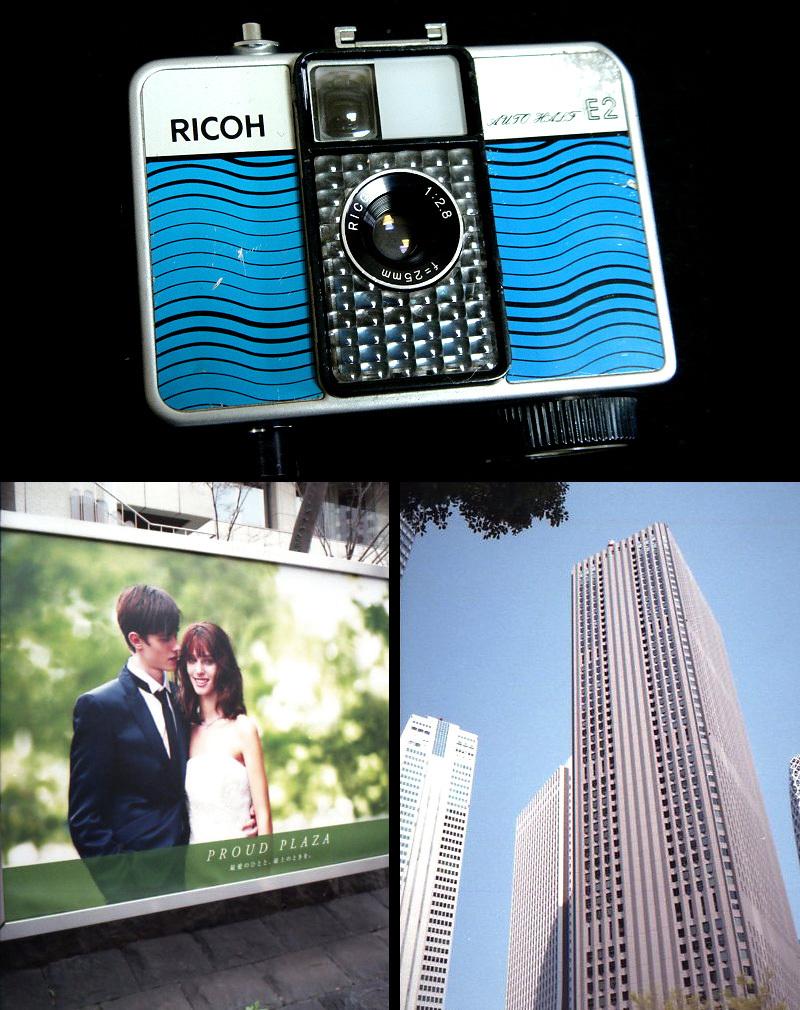 232 試写済 リコー オートハーフ E2 ラインブルー ricoh autohalf e2 昭和レトロ auto half vintage half frame camera