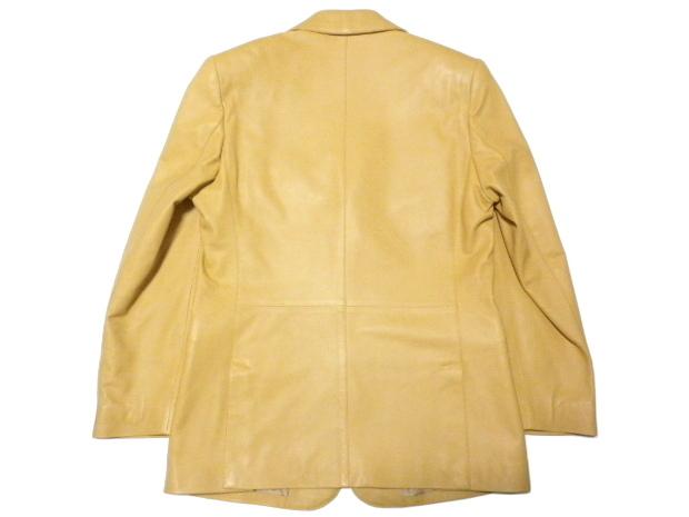 ◆TANINO CRISCI/タニノクリスチー◆超稀少!極上 とろとろラムレザー 羊革 テーラードジャケット【46】(L相当)_画像3
