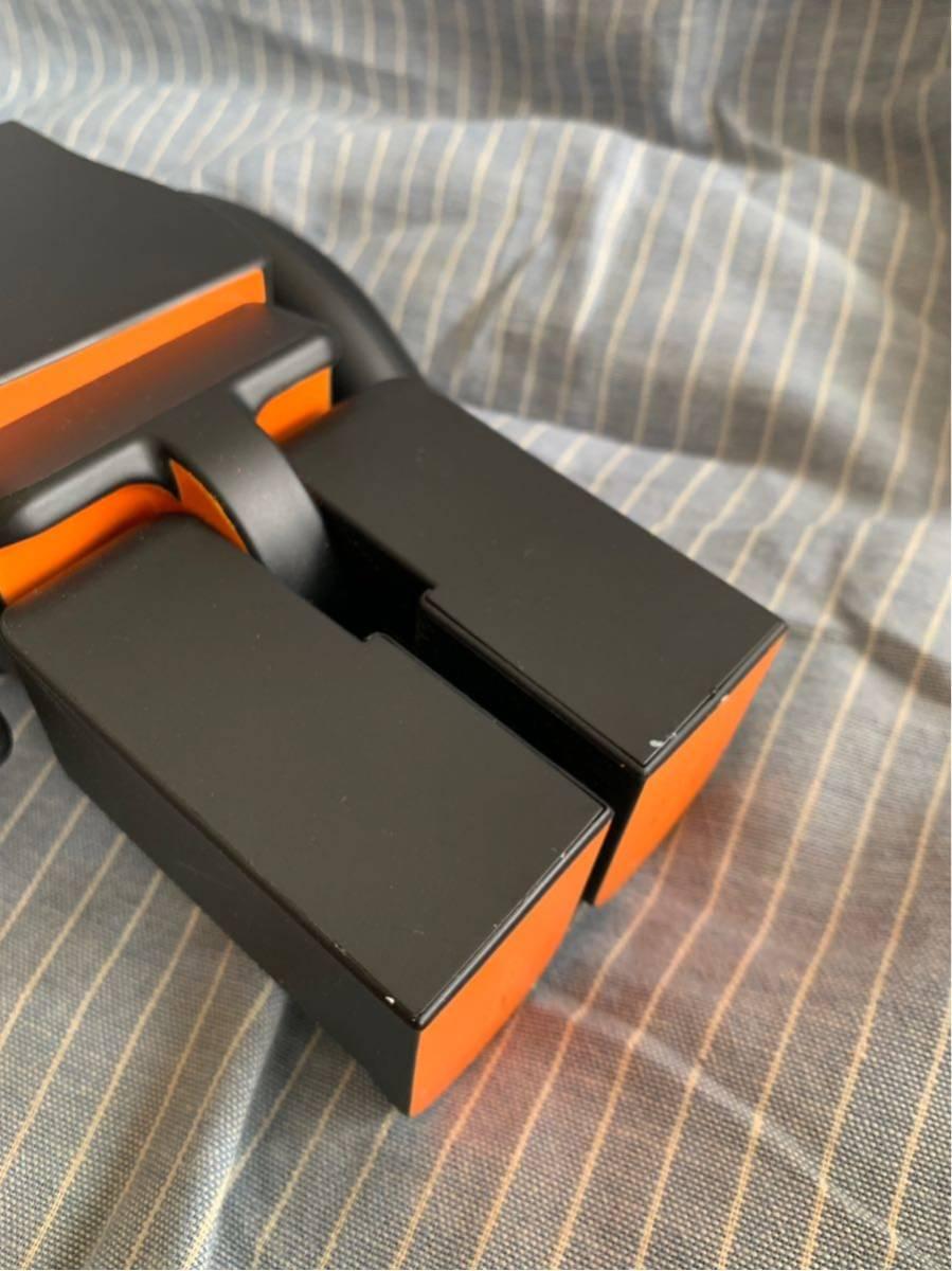 PORTER ポーター ベアブリック BE@RBRICK 400% ドール 人形 黒 オレンジ フィギュア 初代 _画像5
