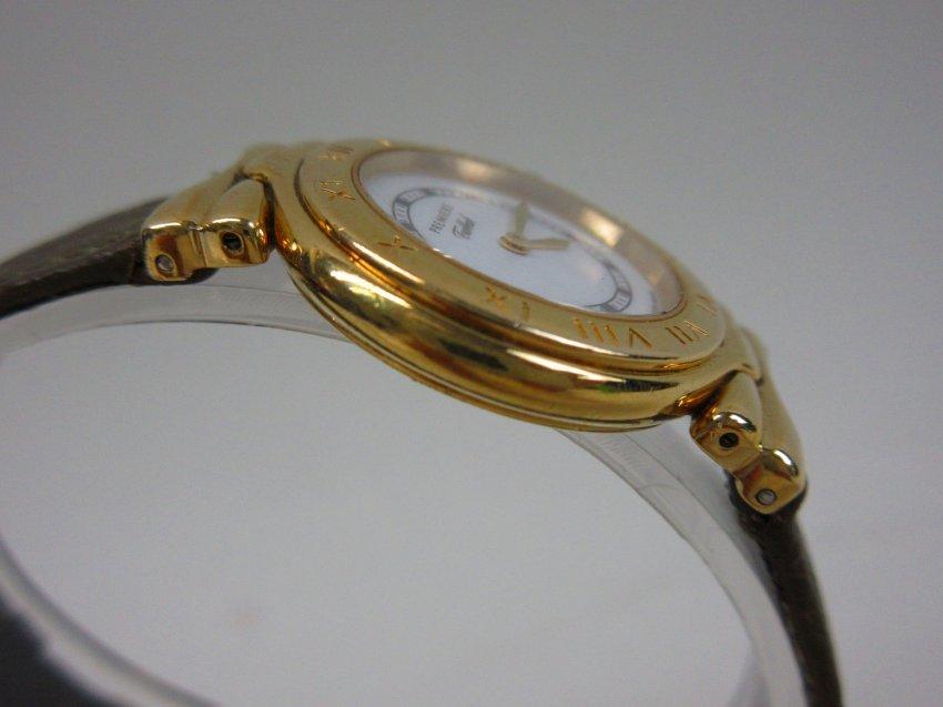●【Tabbah】タバー レディース クオーツ 腕時計 ゴールド・ホワイト 動作品●B6292_画像4