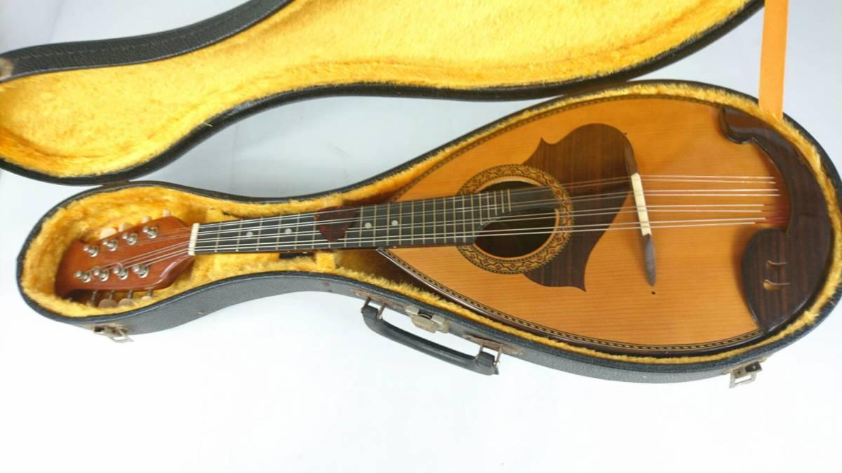[55]鈴木バイオリン製 マンドリン M-215 1975 弦楽器 綺麗目_画像1