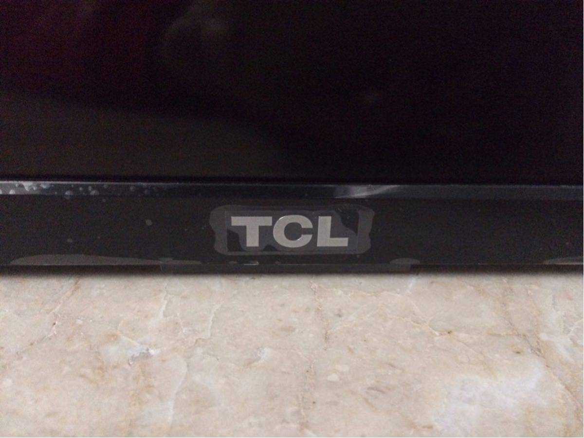 TCL 32V型 液晶 テレビ 32D2900 ハイビジョン USB外付けHDDへの番組録画 ジャンク品 液晶割れ 部品取り_画像5