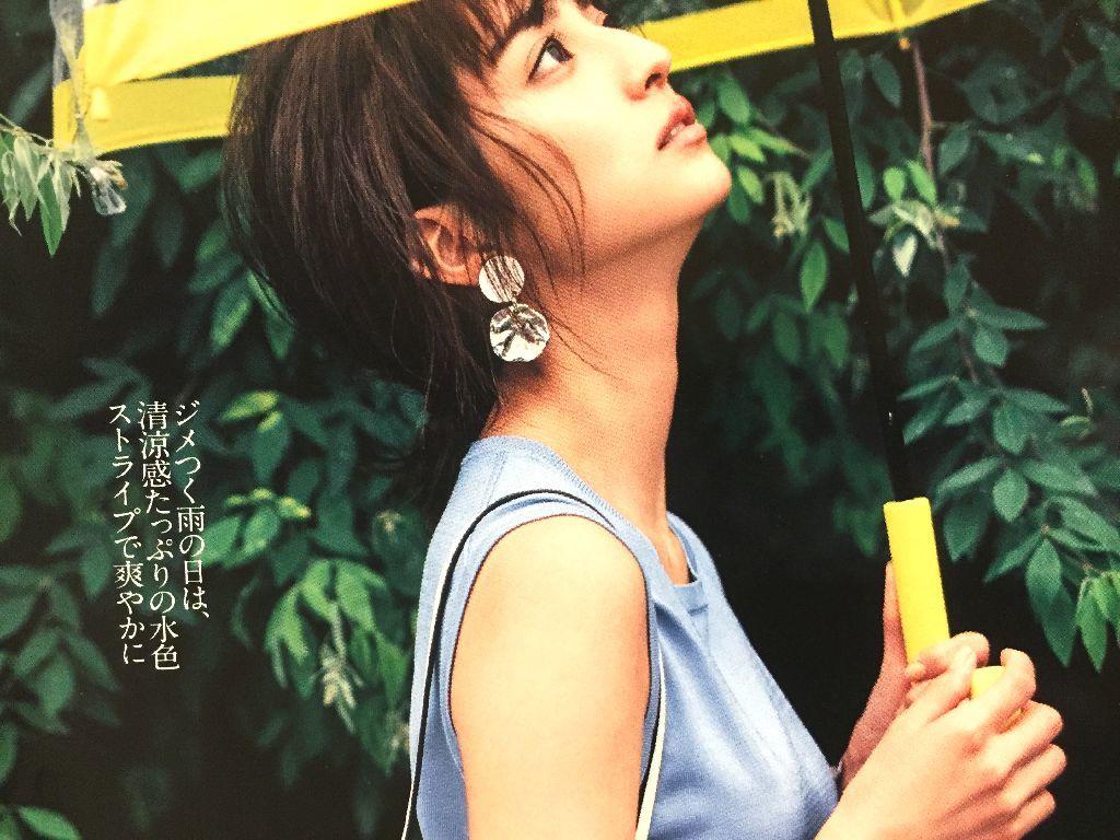 堀田茜 切り抜き29ページ/with 美人百花/モデル ファッション誌 女性誌 ビューティ誌_画像3