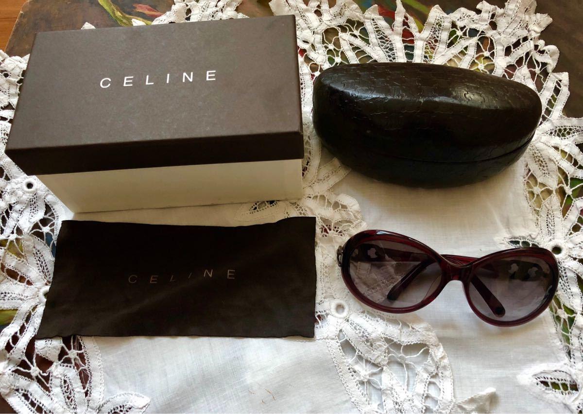 CELINE セリーヌ サングラス ブラウン_画像2
