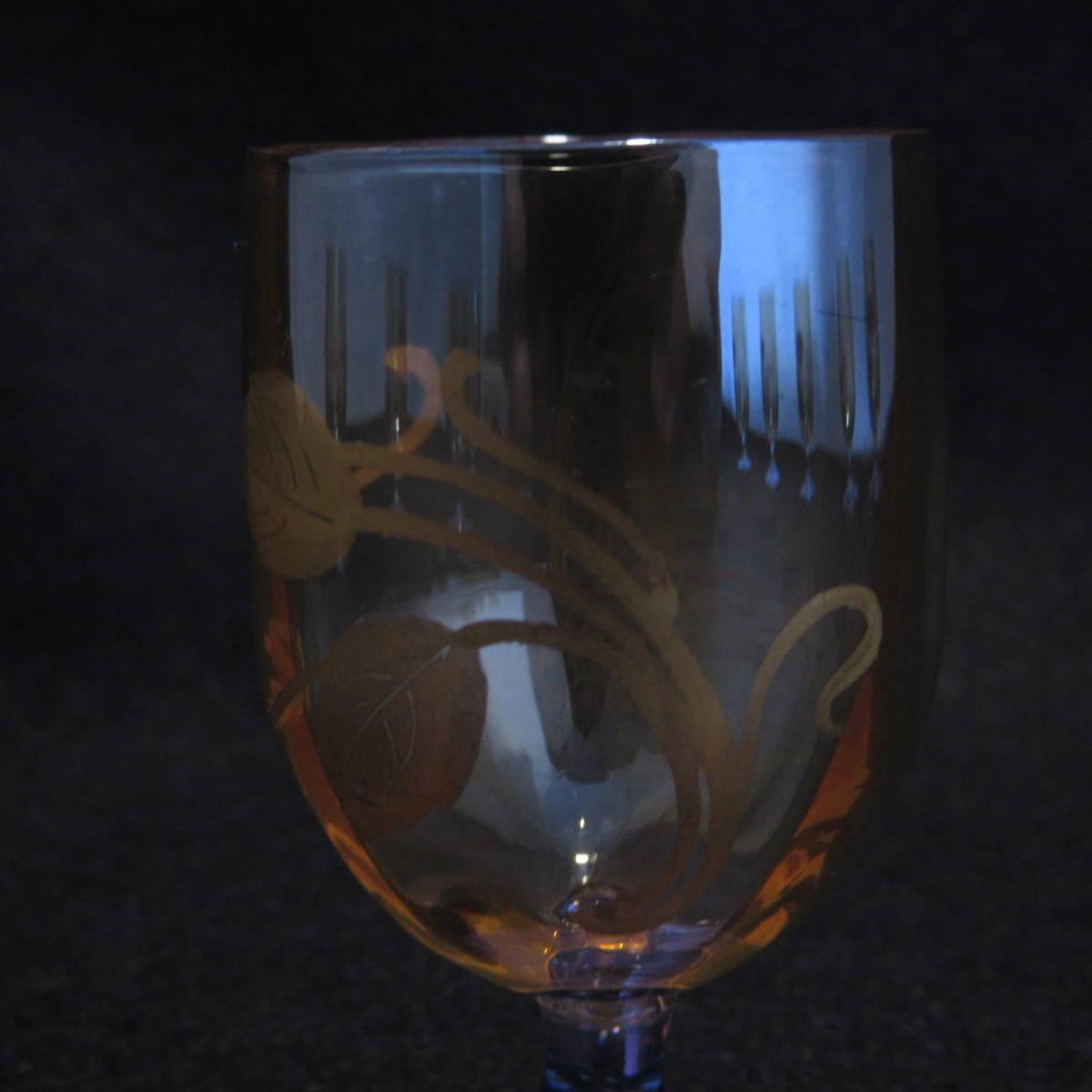 アンティークバカラ1890年頃 ラスター彩 グラス等 12点セット_画像6