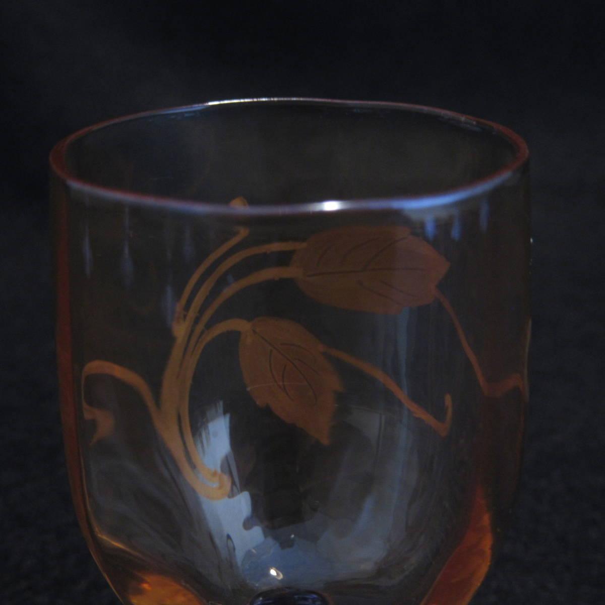 アンティークバカラ1890年頃 ラスター彩 グラス等 12点セット_画像8
