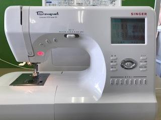 文字・アルファベット・数字縫い・シンガー9700スーパーDX自動糸切り